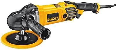 Dewalt Dwp849X-Qs - Pulidora para metal 1250w 180mm y 150mm 3.500 rpm electrónica