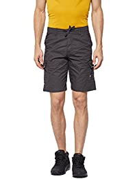 BEEVEE Mens Grey Coloured Cotton Shorts, Cotton Fabric,soft Cotton ,has Four Pockets, An Elasticated Waistband...