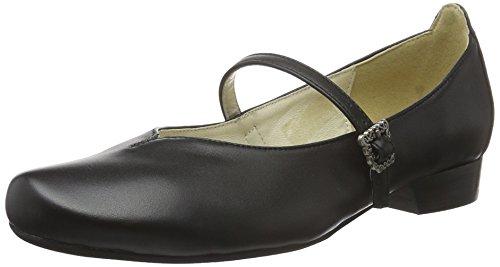 Hirschkogel Damen 3002705 Geschlossene Ballerinas, schwarz 002), 38 EU
