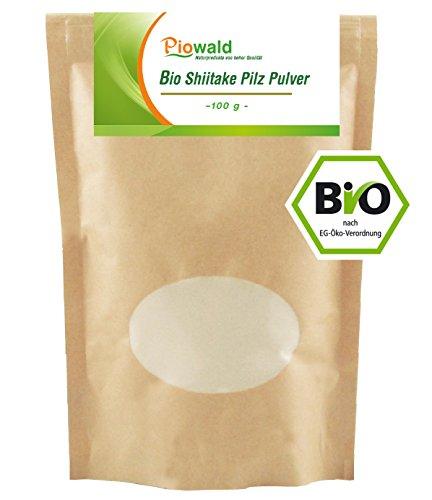 BIO Shiitake Pilz Pulver - 100g (Pilz Pulver Bio)