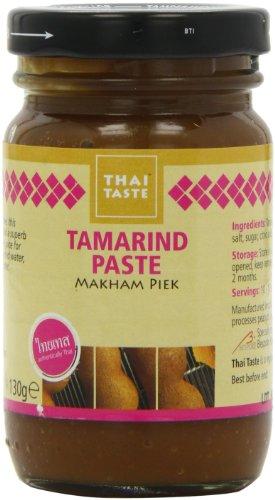 Preisvergleich Produktbild Thai Taste Tamarind Paste (130g) - Packung mit 6