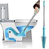Europezwq Toilette Plunger, Power Cleaned WC Rohr, Kolben Art Schnelles Easyti Einsatz tieferes Rohr Ausbaggern Werkzeug für verstopftes Toiletten Badezimmer