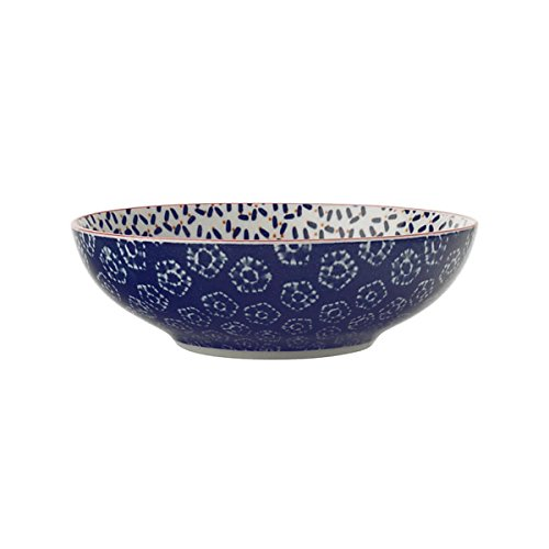 Bruno Evrard Assiette Creuse en Porcelaine 18cm - Lot de 4 - Boho