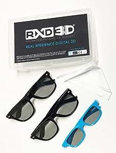 RXD 3D Polarized Passive 3D Glasses