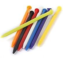 8pcs Plumas Lápiz de Pantalla Táctil Plástico para Nueva Nintendo 3DS Multicolores