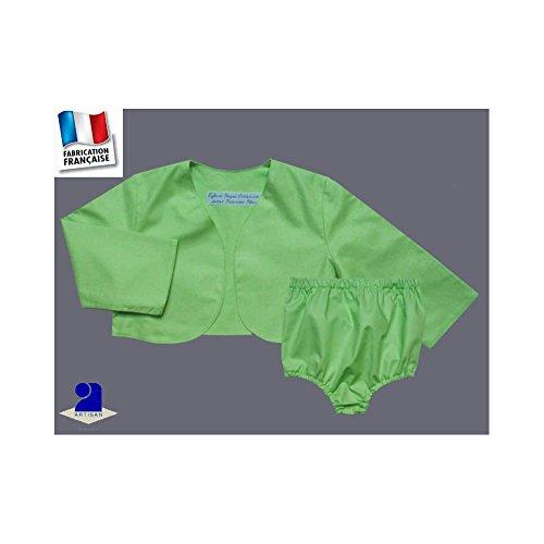 4cced559052d Poussin bleu - Boléro et bloomer cérémonie, 0 mois-10 ans Made in France