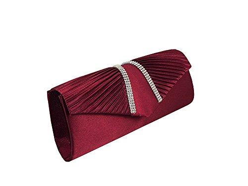 Xpgg Good Gift Ladies Evening Bag Handbag-bag-bag-clutch-bag-003 Rosso
