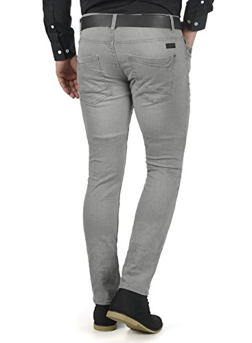 BLEND Pico Herren Denim Pants Jeans Hose aus hochwertiger Baumwolle Skinny Fit Denim grey (76205)
