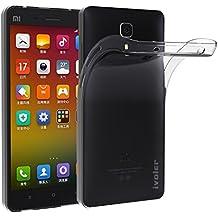 Xiaomi MI 4 Funda, iVoler TPU Silicona Case Cover Dura Parachoques Carcasa Funda Bumper para Xiaomi MI 4, [Ultra-delgado] [Shock-Absorción] [Anti-Arañazos] [Transparente]- Garantía Incondicional de 18 Meses