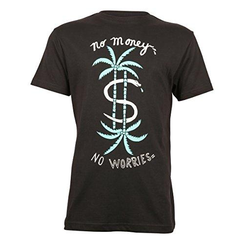 Billabong - NO WORRIRES, T-shirt da uomo, nero (schwarz - schwarz), S nero (Schwarz - Schwarz)