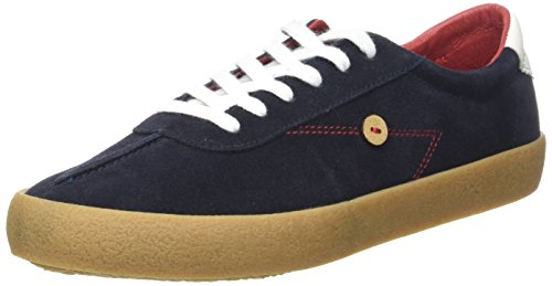 Faguo Albizia, Baskets Mixte Adulte Bleu (Navy)
