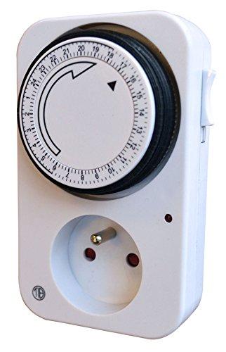 Tibelec-560100-Prise-programmateur-journalier-mcanique-Blanc