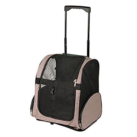 FARM COMPANY Houndstooth Collection Trolley, 40 x 26 x 40 cm