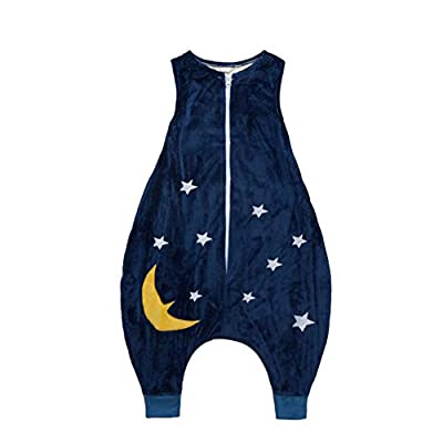FJY Saco De Dormir con Pies Lightweight Bebé Sin Mangas Dormido Bolso para Niña Y Niño, Disponible En 6 Tallas ER001