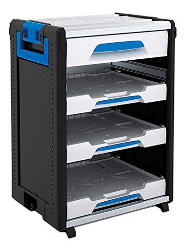 Sortimo WorkMo 24-750 inklusive 1 Schublade und 3 Multislides, 1000004443