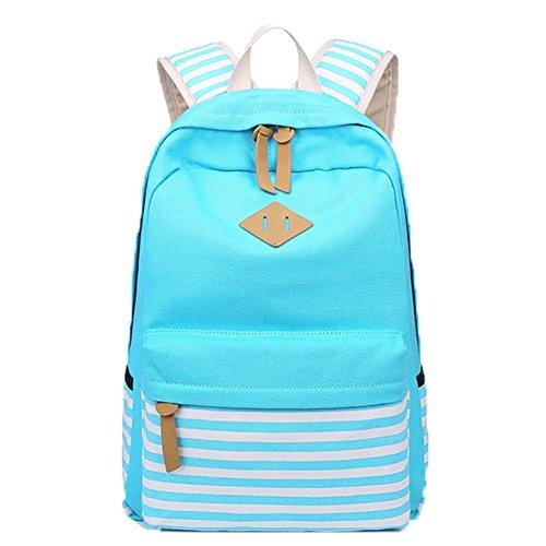 OPSUN , Damen Rucksackhandtasche Taille Unique Blau