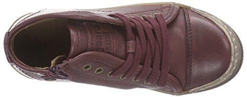Bisgaard 30704215, Sneakers Hautes mixte enfant Rouge (18 Plume)
