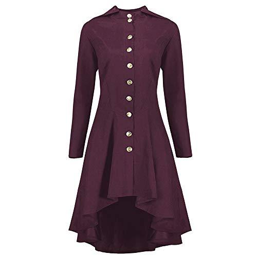 opf Reißverschluss Mantel Tunika Plus Größen Unregelmäßiger Rand Mantel ()