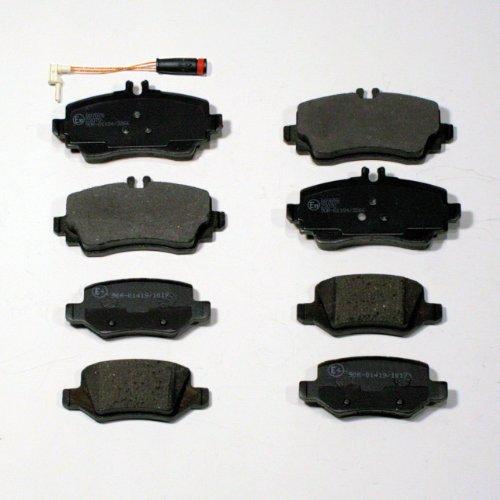 Preisvergleich Produktbild Bremsbeläge / Bremsklötze / Bremsen + Sensor vorne + hinten
