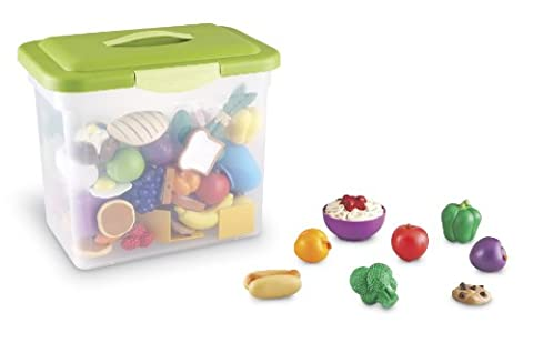 Learning Resources Aliments en Plastique pour la Classe New Sprouts