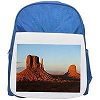 Monument Valley, Utah, Estados Unidos, red, Rocks Printed Kid 's Blue Backpack, Cute de mochilas, Cute Small de mochilas, Cute Black Backpack, Cool Black Backpack, Fashion de mochilas, large Fashion de mochilas, Black FA