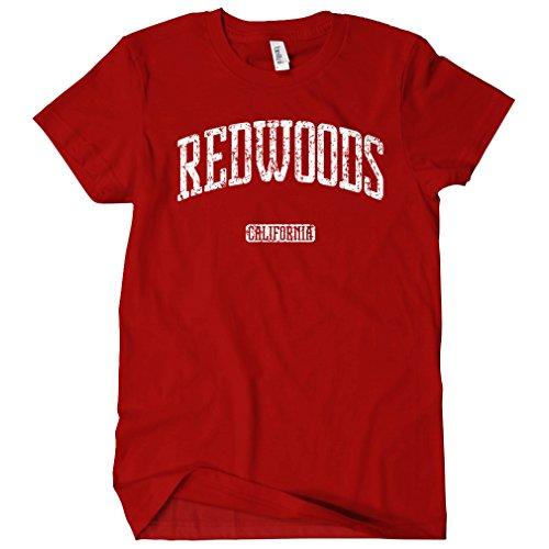 Smash Transit - T-shirt - Col Rond - Manches Courtes - Femme rouge foncé