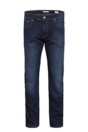 WAY OF GLORY 5 pocket Jeans - John - regular fit mit Sitzfalten John Herren Slim Fit Casualmode 1001281 Blau
