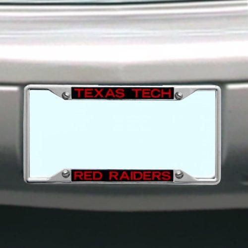 Texas License Plate Frames (NCAA Texas Tech Rot Raiders Nummernschild Rahmen)