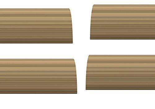 Stormguard 02 Am0070914lwo Interne en mousse sous le Boudin de porte d'étanchéité, chêne clair, 914 mm, lot de 4 pièces