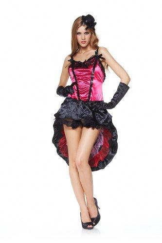 Sexy Kostüm SALOON-GIRL PINK Gr. 34-38