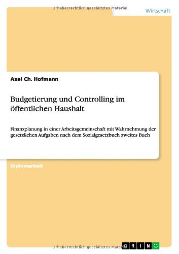 Budgetierung und Controlling im öffentlichen Haushalt: Finanzplanung in einer Arbeitsgemeinschaft mit Wahrnehmung der gesetzlichen Aufgaben nach dem Sozialgesetzbuch zweites Buch