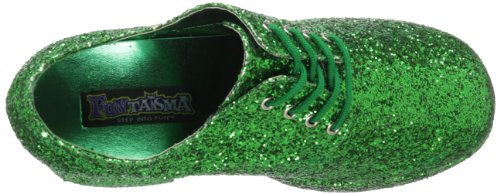 Pleaser Jazz-02, Oxford Homme Green Glitter