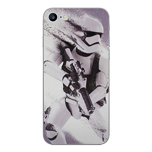 iPhone 7 Star Wars Silikonhülle / Gel Hülle für Apple iPhone 7 / Schirm-Schutz und Tuch / iCHOOSE / Stormtrooper Splatter