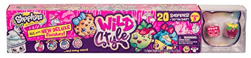 Shopkins Wild Style | 20 Toys plus Tattoo Sheet for Kids | Season 9