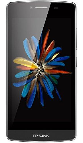 TP-LINK Neffos C5 - Smartphone libre Android (pantalla de 5'', cámara de 8 MP, 16 GB, 4 G, Quad-core a 1.3 GHz, 2 GB RAM, Dual SIM), color gris oscuro