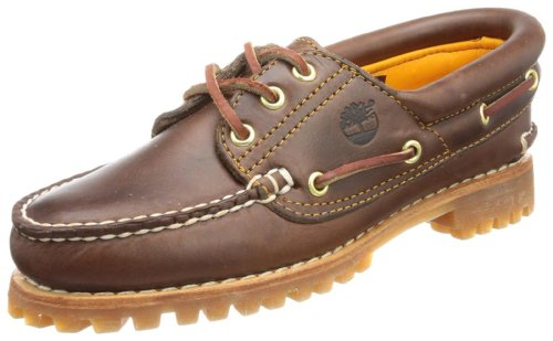 Timberland Heritage Noreen 3 Eye, Scarpe da Barca Donna, Marrone (Brown Smooth), 37.5 EU
