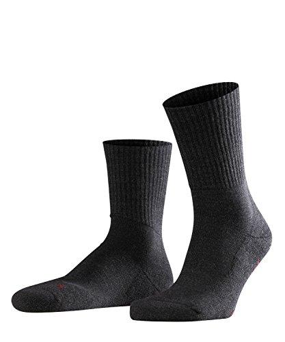 FALKE Unisex Socken Walkie Light - Merinowollmischung, 1 Paar, Grau (Anthracite Melange 3080), Größe: 46-48