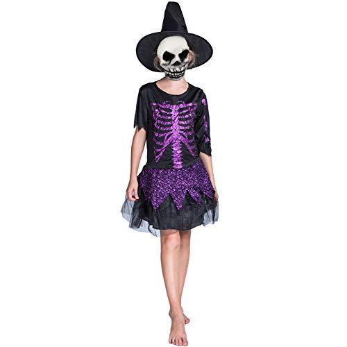 Halloween kostüm S.CHARMA Kostüme für Erwachsene Cosplay Unheimlich Kleidung Halloween-Set Performance-Kostüm Schwarze Pirat Kind
