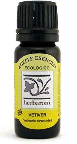Vetiver -Aceite Eesencial BIO 10 ml. Puro 100% Certificado