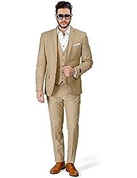 Suchergebnis Auf Amazon De Fur Hochzeitsanzug Herren Beige
