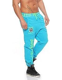 Hombre Pantalón De Jogging Y Entrenamiento Pantalón Deportivo Fitness Jogg Pantalón Chándal Pantalones Informales Jogger 601