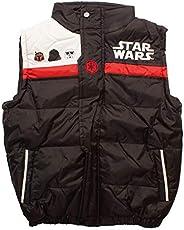 Licencia Darth Vader, Chaqueta de Chaleco Star Wars Empire Gilet Acolchado para el Cuerpo para niños