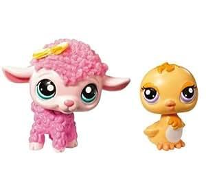 Littlest Petshop - Petshop Duo - agneau et poussin