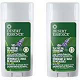 Desert Essence Tea Tree Oil Deodorant With Lavender For Long-Lasting Protection