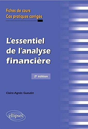L'Essentiel de l'Analyse Financière Fiches de Cours