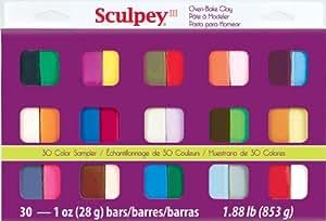 That's Original S3301 Échantillonnage de 30 Argile Multicolore 18,80 x 1,01 x 2,03 cm