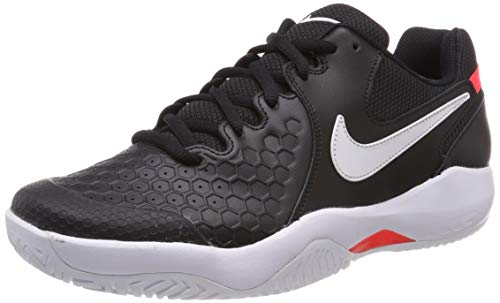 Nike Air Zoom Resistance, Scarpe da Tennis Uomo, Mehrfarbig (Black/White-Bright Crimson 003), 46 EU