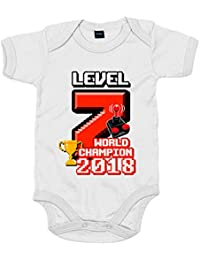 Body bebé Campeón Moto GP 2018 Level 7 World Champion faa061245df