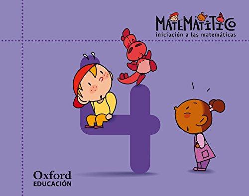 Matematitico 4 Años Pack Cuaderjo de Ejercicios 4 Alum (Matematítico) - 9788467395600