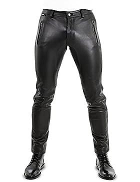 Lederhose Lederjeans Bikerhose Bockle® NEW PANTS 2015 Dangerous